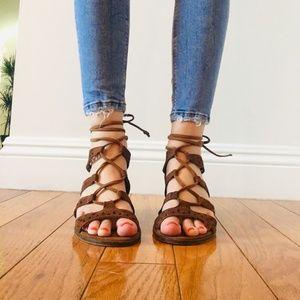 Steve Madden Gladiator Sandals 7